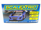 Scalextric Purple GT Lightning Super Resistant 1/32 Scale Slot Car C3475