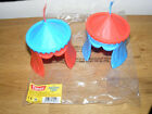 2 Timpo Toyway Knights Tent, for use with 54 mm Action Figures
