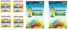 4x 2014 PANINI WORLD CUP 2014 BRAZIL STICKER BOX (50ct) + 2x 2014 OFFICIAL ALBUM