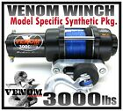 3000LB COMPLETE ATV WINCH PKG. YAMAHA 98-01 Grizzly 600