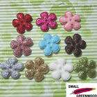 U Pick Wholesale 50 500 Pcs 1 Padded Felt Shiny Spring Flower Appliques F3130