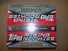 2011 Topps Rising Rookies Football Retail Box- Factory Sealed