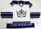 LOS ANGELES KINGS AUTHENTIC AWAY TEAM ISSUED REEBOK 6100 JERSEY GOALIE CUT 60
