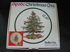 SPODE buffet set Christmas Tree S3324 PLATE CUP SAUCER + BOX