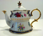Exquisite Antique Continental Miniature Child's Porcelain Teapot
