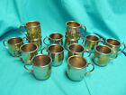 SET OF 14 INTERNATIONAL SILVER COMPANY SILVERPLATE BABY CHILD'S CUP WITH FLOWER