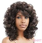 New Women Ladies Medium Length Bouncy Curly Curls Light Wig Vanessa Hair