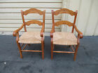 52769 PAIR French Country Armchair s Chair s