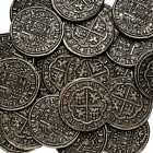 SILVER PIECES OF EIGHT PIRATES TREASURE SPANISH ARMADA COIN