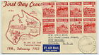 Australia 1953 first day covers (2), Food Production issue