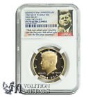 2014 US Kennedy Half Dollar 50th Proof NGC PF70 .75 oz .9999 Gold Coin