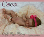 Baby Mine Nursery Reborn Baby girl Coco kit by Natali Blick New Release LE