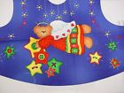 GIRL'S ANGEL BEAR JUMPER TOP - JELLY BEAN JUNCTION 2-4-6-8 Holiday Fabric Panel