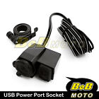 iPod iPhone Cell phones Cigarette Lighter USB Socket for Universal scooters BK