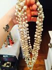pearls , pearl necklace ,stylysh necklace, chic necklace, coco necklace