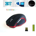 2.4GHz IR Wireless Laser Optical Gaming Mouse Mice+USB 2.0 Receiver for Laptop