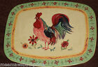 Pfaltzgraff Day Break Rooster COUNTER Stove Table Top MAT HOT PAD TRIVET SET 2