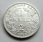 RARE GERMANY EMPIRE 1 MARK SILVER COIN 1914 J  -  0.900 SILVER