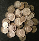 Circulated U.S. Minted Lot Old US  Silver Coins 1/2 Pound LB 8 OUNCES OZ
