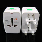 US EU UK To Universal All-In-One World Travel AC Power Plug Adapter Convertor