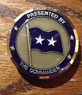 2-Star General - Commander Headquarters 19th Air Force Military Challenge Coin