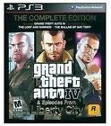 Grand Theft Auto IV Complete Edition  (Sony Playstation 3) FREE SHIPPING NO RESE