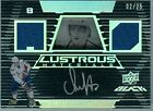 2007-08 UD BLACK #LM2-AO ALEXANDER OVECHKIN LUSTROUS MATERIAL AUTO OPEN TO TRADE