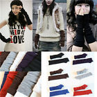 New Arrival 1pc Fashion Long Knit Wrist Arm Women Warmer Fingerless Gloves