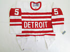 LIDSTROM DETROIT RED WINGS AUTHENTIC 1992 VINTAGE CCM 6100 HOCKEY JERSEY SIZE 48