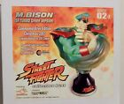 M. BISON Street Fighter Collector Bust SF:Turob GREEN VERSION LTD 250 IN BOX