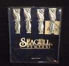 Seagull Pewter Tuscany Olive Pattern Cheese/Pate Knives