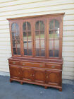 00001 STATTON SOLID CHERRY 2 PIECE CHINA CABINET