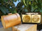 Asian Wooden Lacquer Gold Makie Bamboo Trinket Box Wedding His Her Vintage Gifts