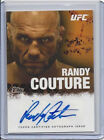RANDY COUTURE 2010 TOPPS UFC AUTO