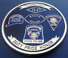 Rare Connecticut Highway State Patrol Trooper Police Challenge Coin HTF NICE