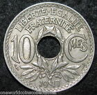 FRANCE  10 Centimes  1917 ~ EUROPE Coin ( FREE USA Combined S&H) BIN-2353