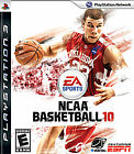 NCAA Basketball 10 GAME Sony Playstation 3 PS PS3 2010