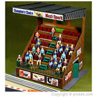 LS-306 RETRO STYLE GRANDSTAND FOR 1:32 SLOT CARS AND LAYOUTS