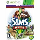 Sims 3: Pets Limited Edition  (Xbox 360, 2011)