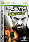 Tom Clancy's Splinter Cell: Double Agent. (XB360) Free shipping, Good condition!