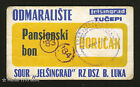 YUGOSLAVIA (Bosnia/Croatia) - Breakfast BON/COUPON - Jelsingrad Foundry 1983/84