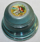 PRETTY VINTAGE 1940'S METAL MUSICAL POWDER/TRINKET BOX