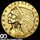 1909 Quarter Eagle, $2.5 Gold Indian, ** Free Shipping!