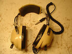 Vintage Airplane Headphones David Clark 250 Aviation Helicopter Pilot Headset