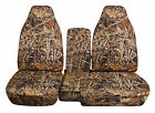 Cc 91-97 Ford Ranger Tree Camo Car Seat Covers 60-40 Seatconsole Coverchoose