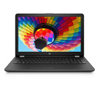 New HP 156 Intel 4GB 500GB DVD HD Vibrant Display WiFi Black Windows 10 Laptop