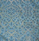 RUBELLI Hoffman Arabesque Blue Italy New Remnant