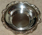 Old English By Poole Silver Plate Bowl Very Good Condition