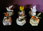 Musical Bird Trinket Box Collection - Heritage House and Holsted House