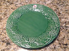 BORDALLO PINHEIRO Large Round Serving Platter Green Grape Made in Portugal NWT